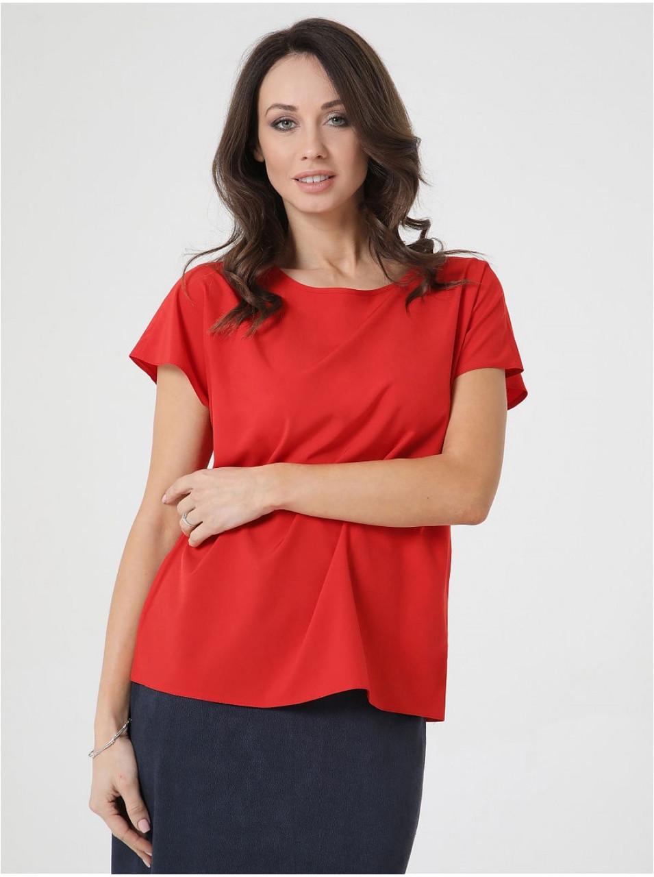 Жіноча блуза без рукавів вільного крою