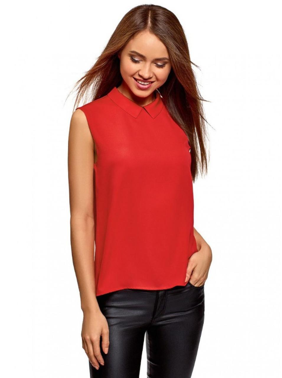 Блуза річна без рукавів