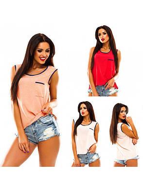 Майка - блузка «Олівія» розміри 40-48, фото 2