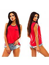 Майка - блузка «Олівія» розміри 40-48, фото 3