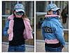 Детская джинсовая стильная курточка трансформер для девочки