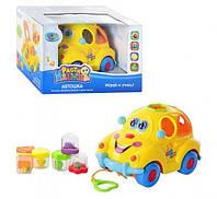 """Музыкальный сортер """"Автошка"""", Play Smart, игрушки для малышей,сотер,деревянные игрушки"""