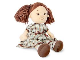 Кукла Карина в клетчатом платье (музыка, 24 см), Lava (LF1145B)