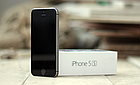 Смартфон Iphone 5S Neverlock 16gb  Space Gray +  стекло, фото 3