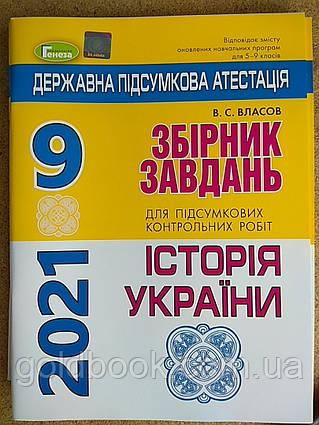 Історія України 9 клас ДПА 2021 збірник завдань