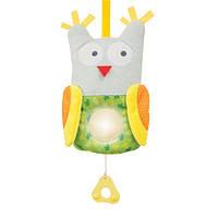 Музыкальная сонная сова - развивающая подвеска (звук, свет), Taf Toys (11795)