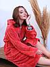 Халат женский махровый длинный Фриз (Турция), фото 2