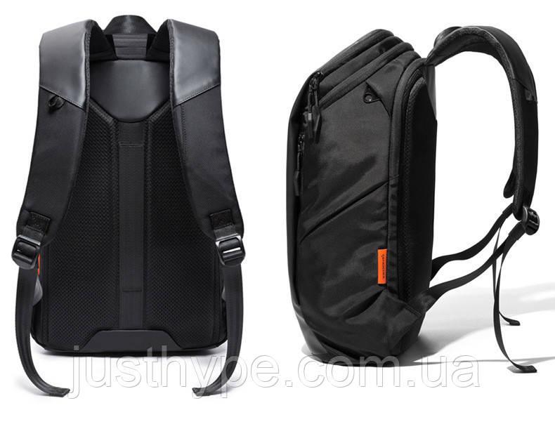Дорожный рюкзак Tangcool высококачественный городской рюкзак чёрный Код 15-0046