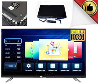 Телевизор Domotec tv 32 дюйма 32ln4100 dvb-t2, Smart tv, USB, HDMI, HD