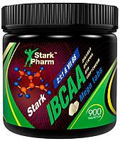 Амінокислоти Stark Pharm - IBCAA 2-1-1 & B6 Mega tabs (900 таблеток)