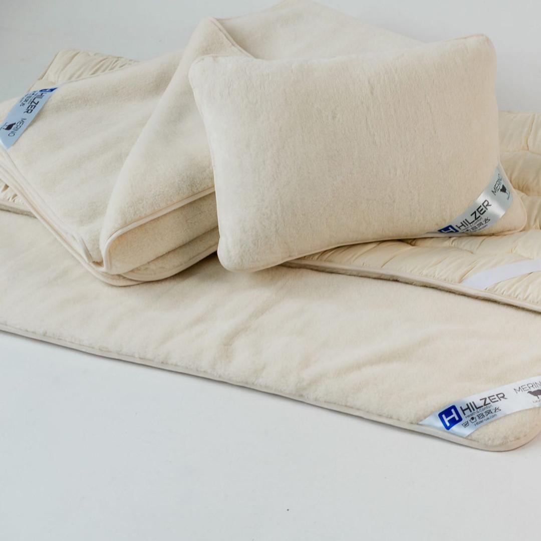 Эксклюзивный постельный комплект с шерсти мериносов. Шерсть/шерсть. Разные размеры + Подарок