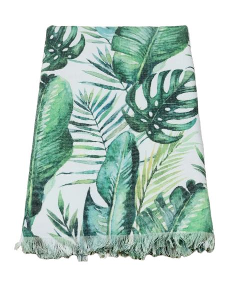 Пляжное полотенце Catherne Malandrino Pestemal Asorti 100*180 см