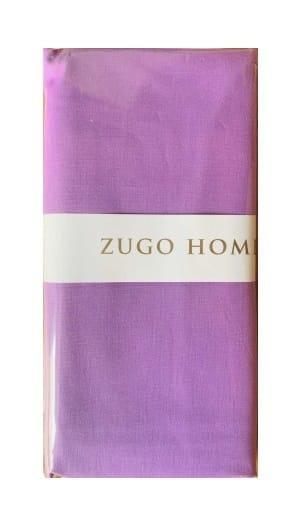 Набор наволочек Zugo Home ранфорс Basic 50*70(2) см фиолетовый
