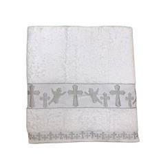Крыжма для крещения Sikel Organic Cotton 70*140 серебро