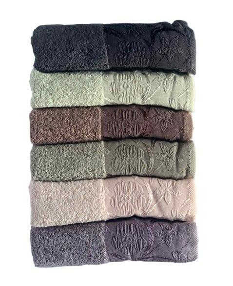 Набор махровых полотенец Miss Cotton хлопок Daisy 50*90 6 шт