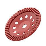 Фреза торцевая шлифовальная алмазная Turbo INTERTOOL CT-6280, фото 2