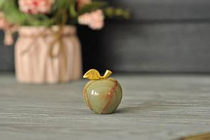 Яблоко из натурального оникса 2.5 см