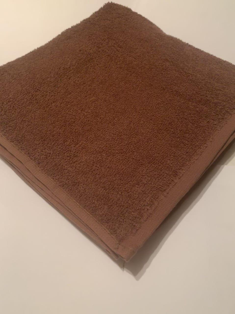 Полотенце махровое MainStays OBSIDIENNE коричневый 61*112