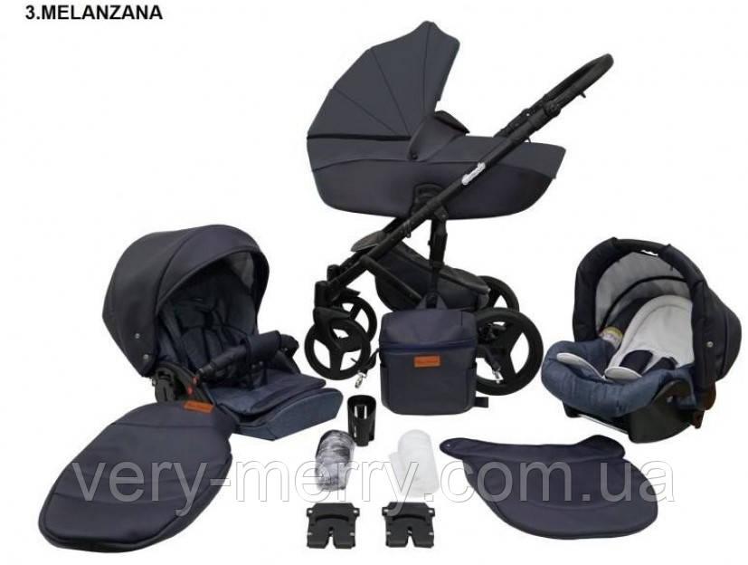 Дитяча універсальна коляска 2 в 1 Mikrus Comodo 03