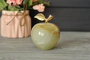 Яблоко из натурального оникса 7 см