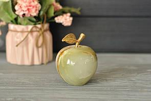 Яблоко из натурального оникса 5.5 см
