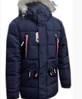 Зимняя курточка из плащевки утепленная меховой подкладкой