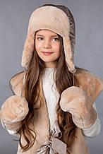 Дитяча шапка Для дівчаток I-118 Фіона Україна 52-54 см