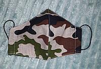 Защитная маска детская многоразовая  тканевая