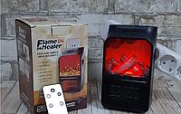 Переносний обігрівач Flame Heater 500 Ватт, Камін з пультом, фото 1