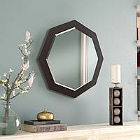 Зеркало восьмиугольное с фацетом ( круглое ) 600 мм, фото 1