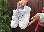Жіночі кросівки Nike Air Force (білі) 9870, фото 2
