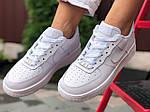 Жіночі кросівки Nike Air Force (білі) 9870, фото 4