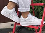 Жіночі кросівки Nike Air Force (білі) 9870, фото 5