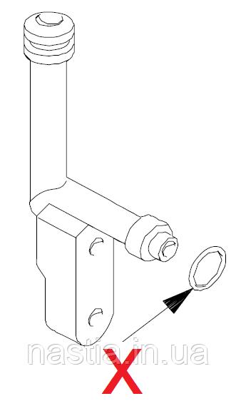 NM01.003 (140321462) Гумовий ущільнювач(на нижній носик робочої групи), OR 2018, Vending