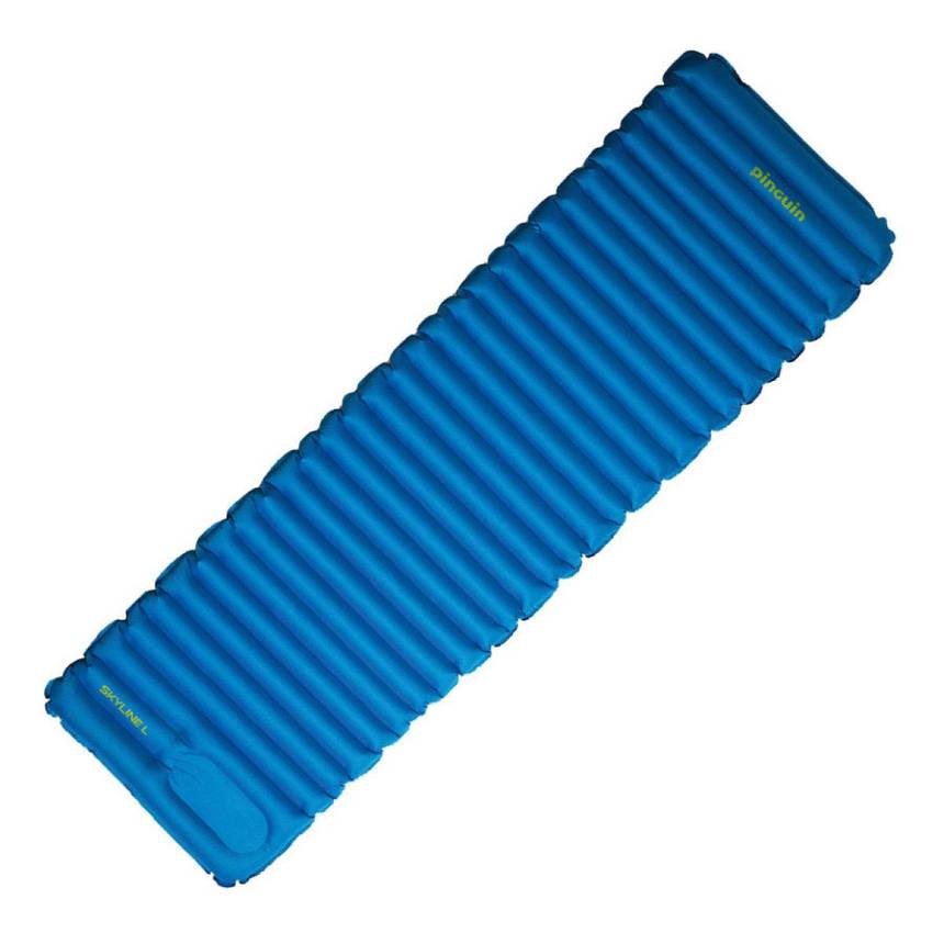 Самонадувний килимок Pinguin Skyline XL 90 Blue, фото 2