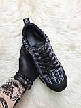 Женские кроссовки Dior D-Connect Kaleidoscopic Black, женские кроссовки диор д коннект (37 размер в наличии), фото 2