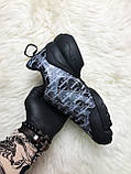 Женские кроссовки Dior D-Connect Kaleidoscopic Black, женские кроссовки диор д коннект (37 размер в наличии), фото 3