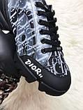 Женские кроссовки Dior D-Connect Kaleidoscopic Black, женские кроссовки диор д коннект (37 размер в наличии), фото 4