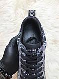 Женские кроссовки Dior D-Connect Kaleidoscopic Black, женские кроссовки диор д коннект (37 размер в наличии), фото 7