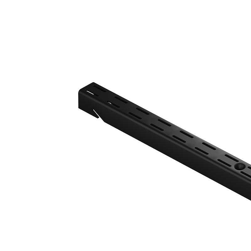 Стойка для гардеробной системы. Гардеробная система.  Черная 1494 мм Larvij L9115BL