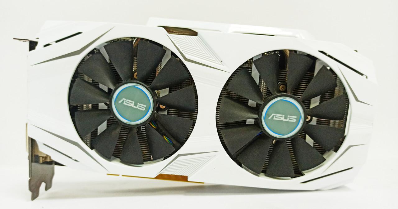 Видеокарта Asus GTX 1060 (3GB/GDDR5/192bit) DUAL-GTX1060-3G БУ