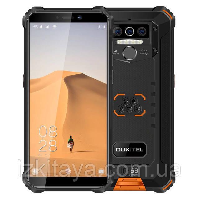 Смартфон OUKITEL WP5 Pro 4/64 orange аккумулятор 8000 mAh
