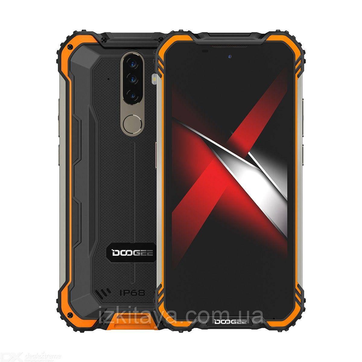 Смартфон Doogee S58 Pro orange 6/64 Гб уровень защиты IP69K