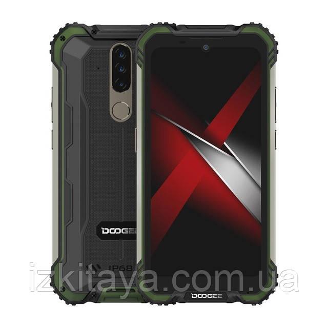 Смартфон Doogee S58 Pro green 6/64 Гб уровень защиты IP69K