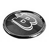Карбоновая эмблема знычек в решетку радиатора для Mercedes G-Class G500 G400 G63 W464 2018+ в стиле BRABUS, фото 5