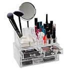 Настольный ящик органайзер для хранения косметики GUT Storage Box, фото 5