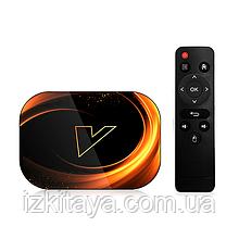 Смарт ТВ приставка VONTAR X3 Smart TV 4/128Gb (смарт ТВ приставка на адроиде) + 3 месяца Sweet TV