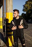 Куртка мужская ветровка с капюшоном весна-осень .Vidlik Турция. Живое фото. Чоловіча куртка, фото 2