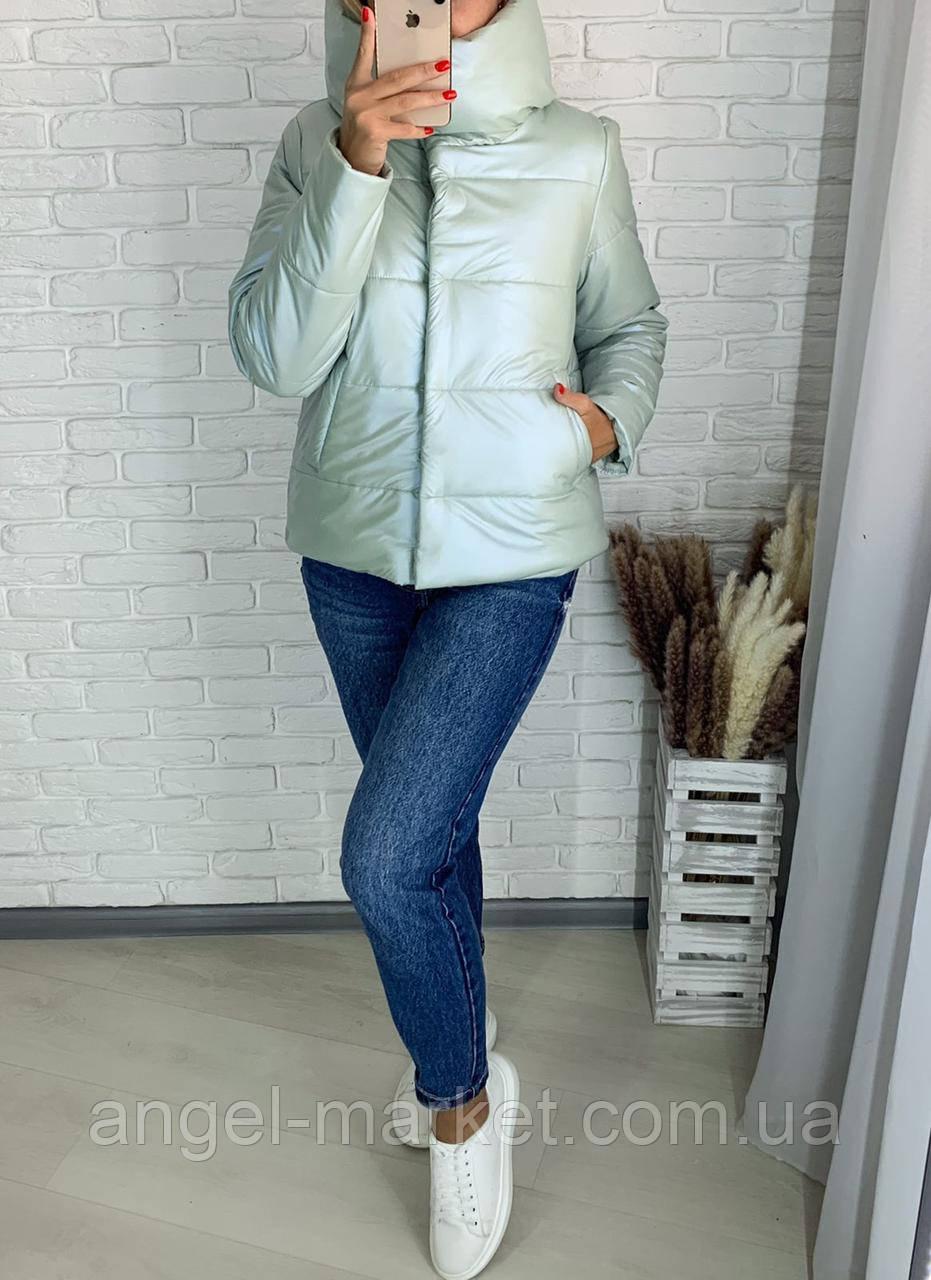 Зимняя стильная женская куртка синтепон 250 новинка 2020
