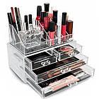 Настольный ящик органайзер для хранения косметики GUT Storage Box, фото 9
